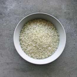 Uncooked sushi rice
