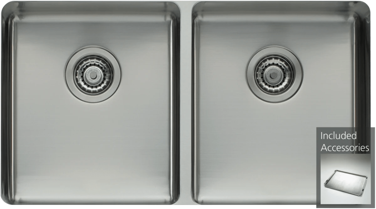 oliveridouble bowl undermount sink