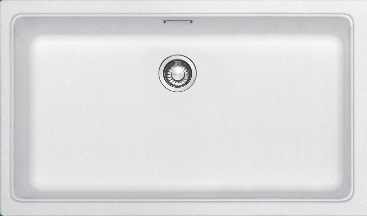 frankekubus fragranite single bowl sink