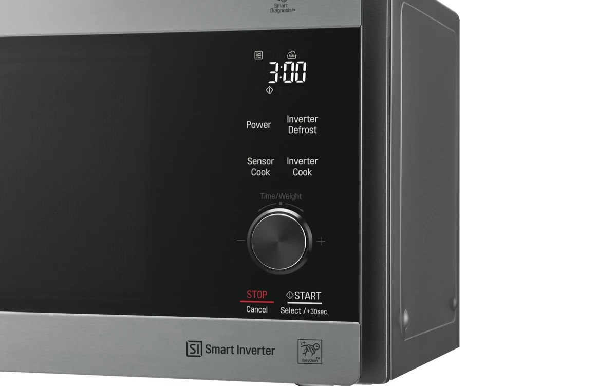 lgneochef 42l 1200w stainless steel inverter microwave