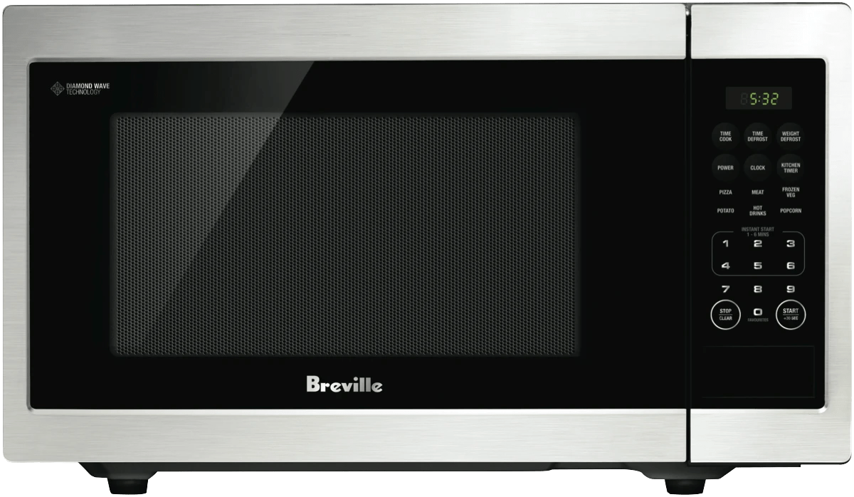 breville23l 900w flatbed stainless steel mw