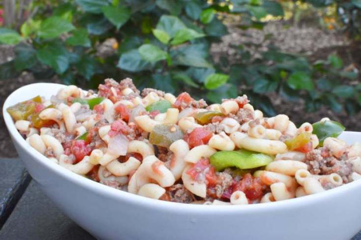 Ground Beef Goulash | Easy Weeknight Meal