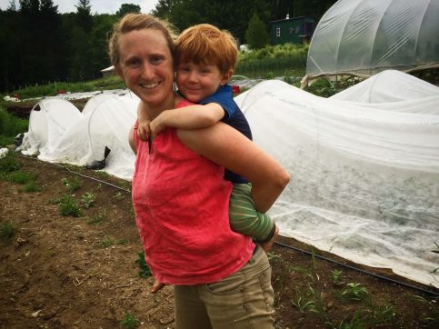 To Young Farmer Moms: Strength is in the Softness