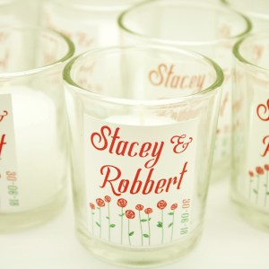 White With Red Flowers Theme