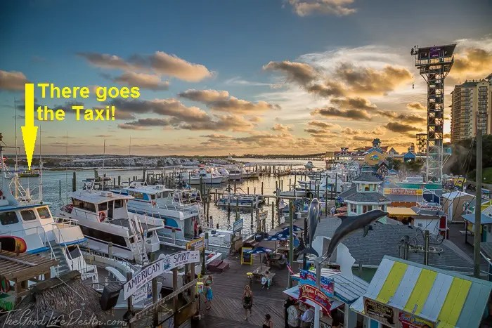 Destin Harbor Water Taxi Destin Florida