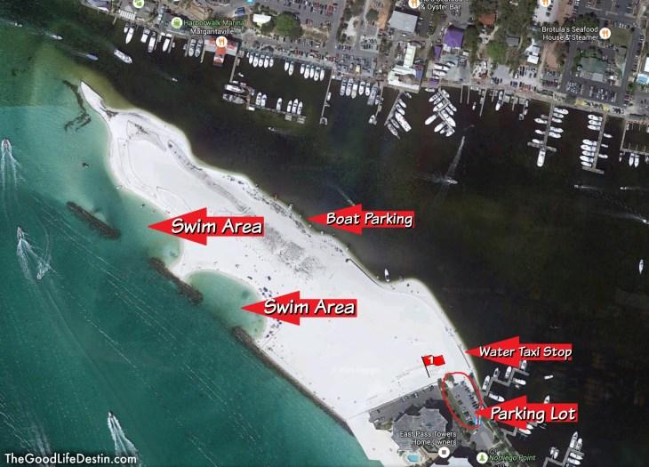 Norriego Point Public Beach Destin Florida