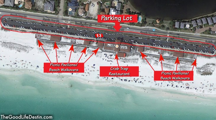 James Lee Park Public Beach Access Destin Florida