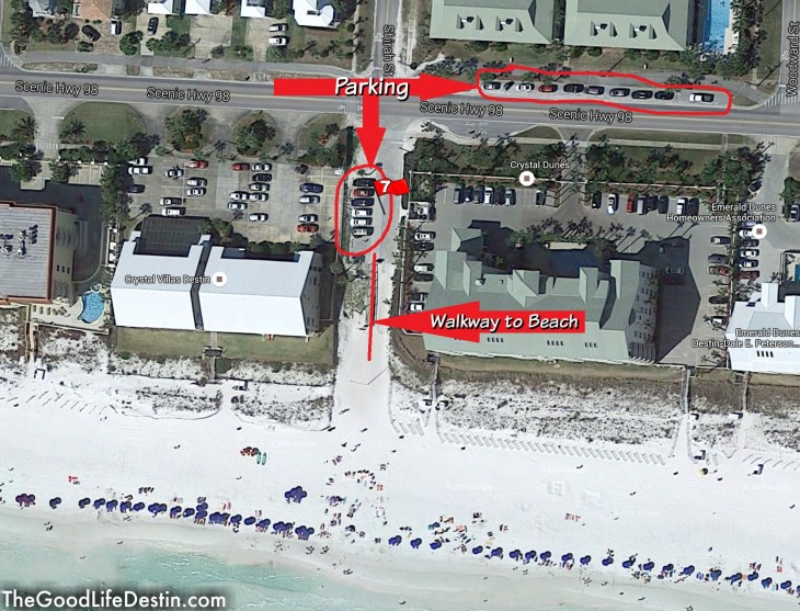Shirah Street Public Beach Destin Florida