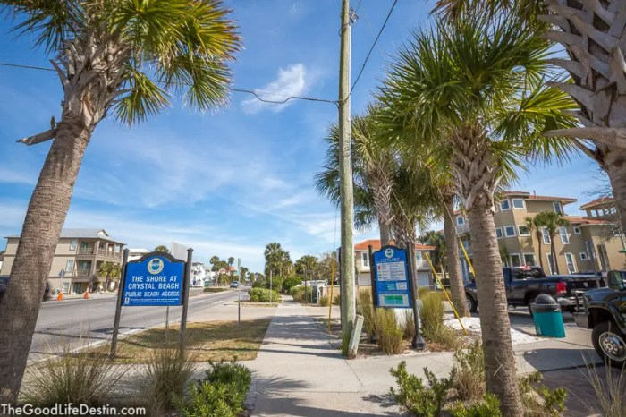 Crystal Beach Destin Florida