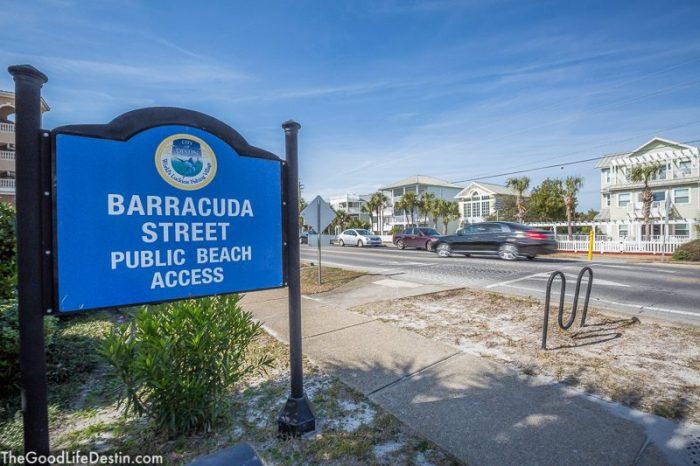 Barracuda Street Beach Destin Florida