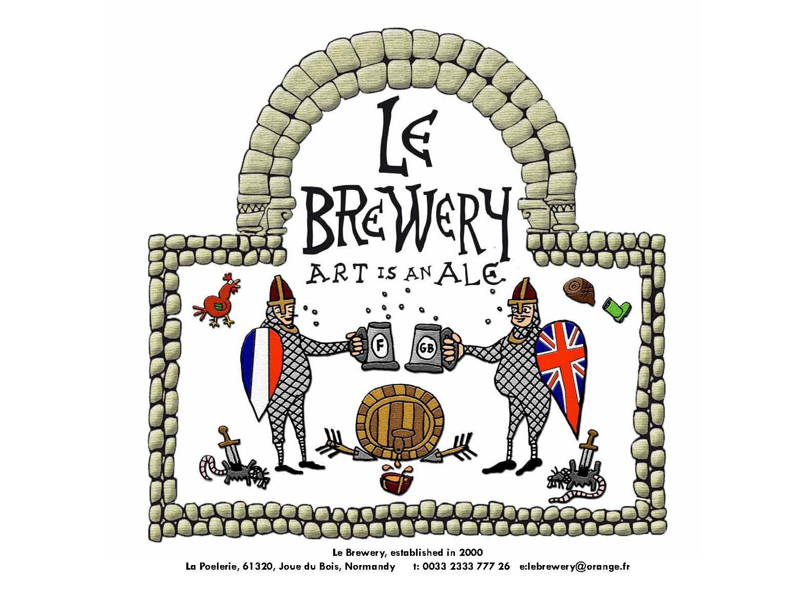 Le Brewery, Normandy, The Good Life France