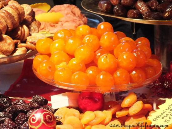 French candied fruit