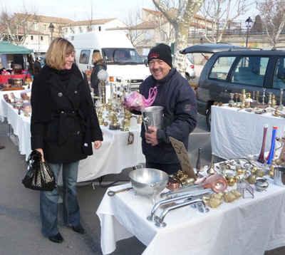 flea markets of france