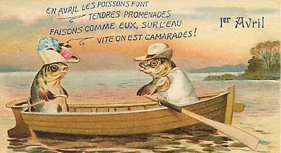 april fish day france