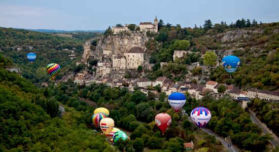 balloons in dordogne