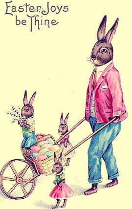 American Easter card