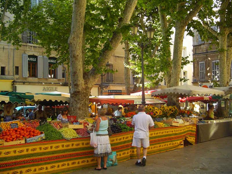 aix en provence street market