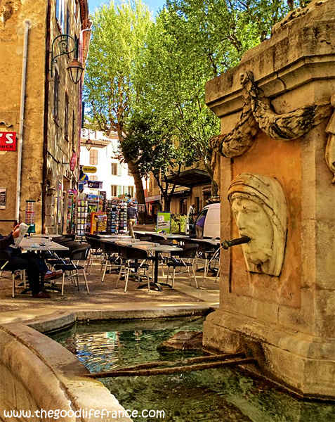cotignac fountain