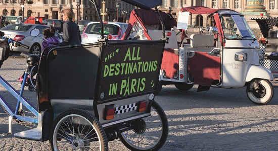 ways to travel in paris by tuk tuk