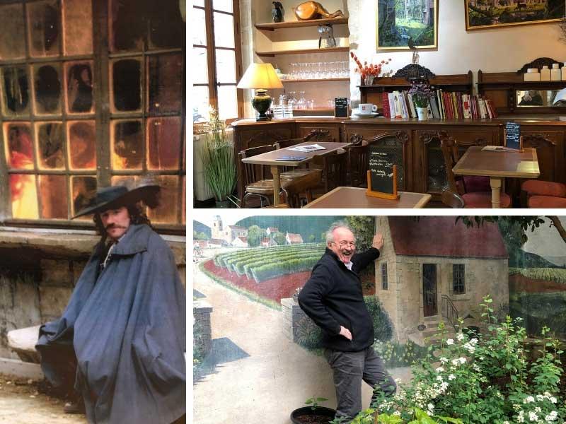 Actor Gerard Depardieu at Maison Milliere, Dijon