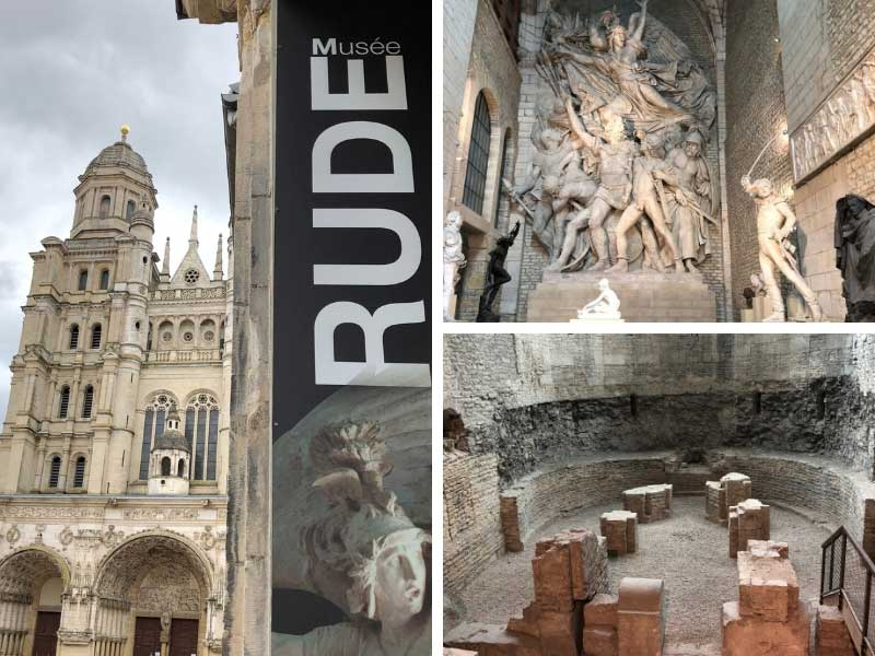Museum with a cast of a sculpture featured on the Paris Arc de Triomphe, Dijon
