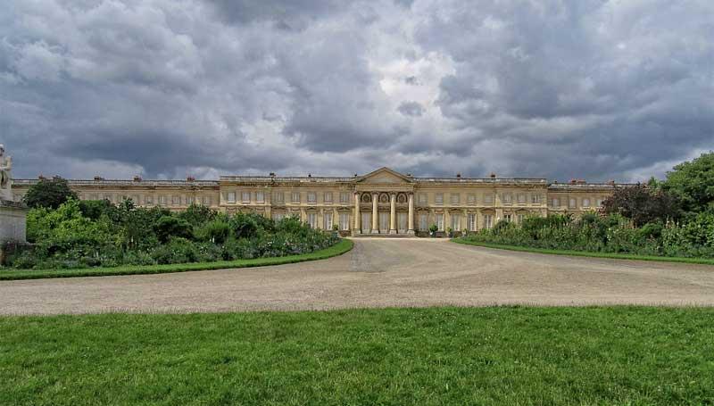 Chateau de Compiegne, Picardy, an enormous building surrounded by parkland