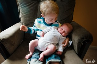 Newborn and Sibling Photography by Virginia Greuloch of The Good Life Photography in Cleveland Ohio-21