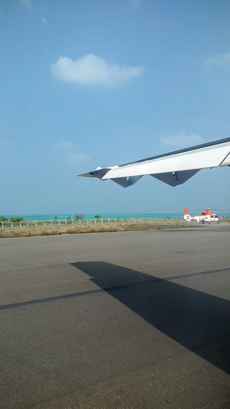 Agatti Runway - How we planned our Lakshadweep holiday