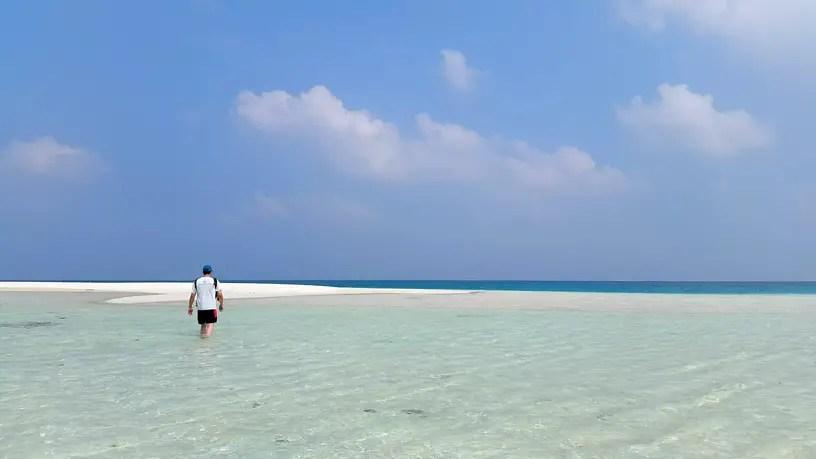 Beach Sandbar - Lakshadweep