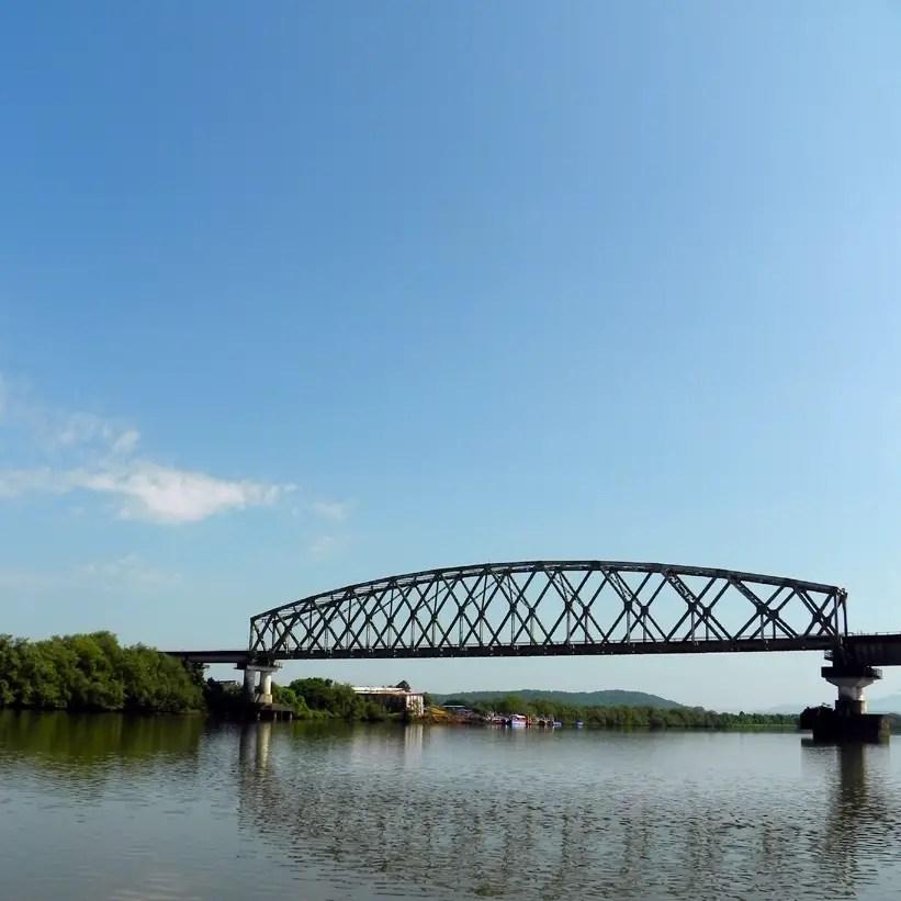 Bridge over the river - An off-the-beaten-path Goan holiday
