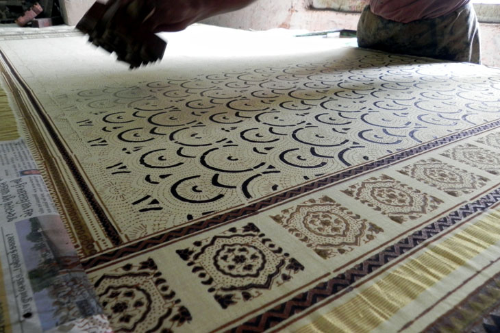 Gujarat_Ajrakhpur_BlockPrinting - The colours of Kutch