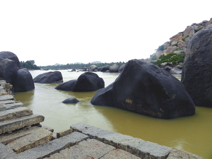 Hampi_RiversidePath_Walkway - Magical sights of Hampi