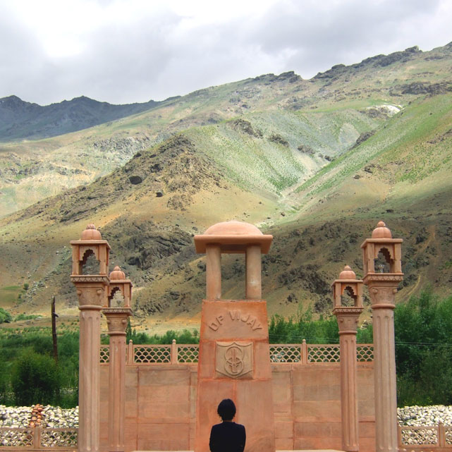 Leh - War memorial - Eight things we learned in Ladakh