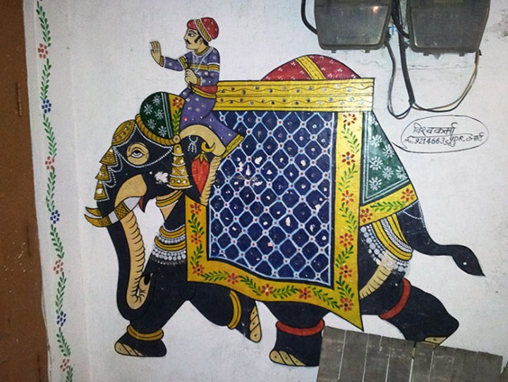 Elephant on the move in Udaipur - Eight great reasons why you should visit Rajasthan, 'land of kings'