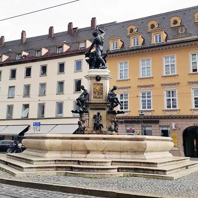 Augsburg - Fountain