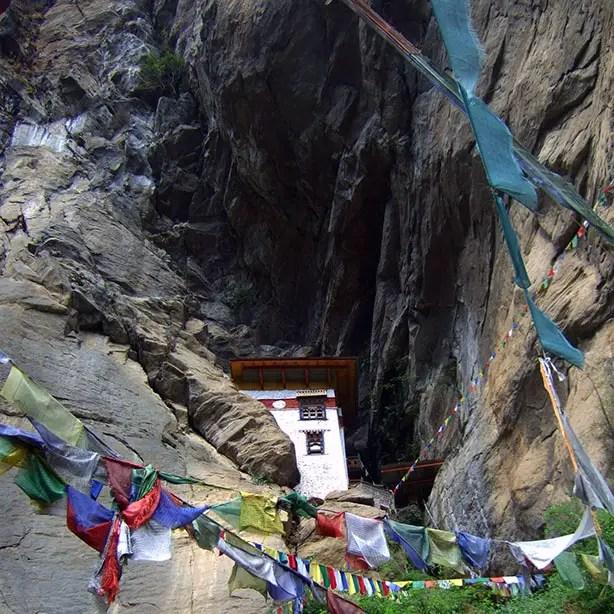 Bhutan - Takstang storehouse