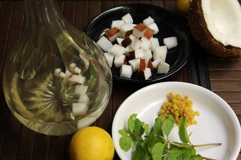 Infusions - Coco Havana - Four easy infusions with which to spice up your home bar