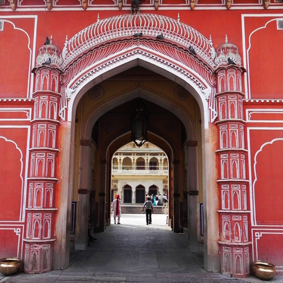 Jaipur - City Palace - Gateway arch - Eight great reasons why you should visit Rajasthan, 'land of kings'