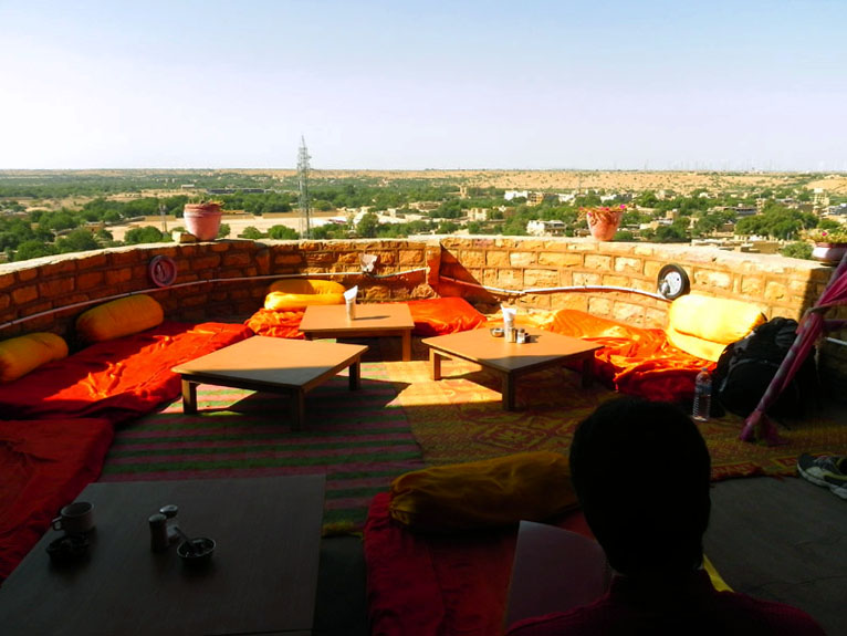 Jaisalmer - Fort top lounge