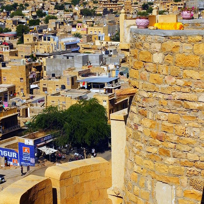 Jaisalmer - View from the walls