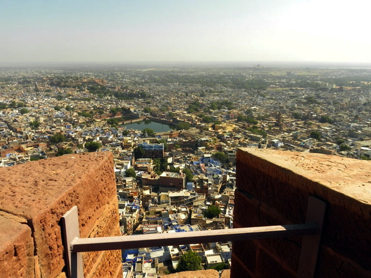Mehrangarh - Looking east