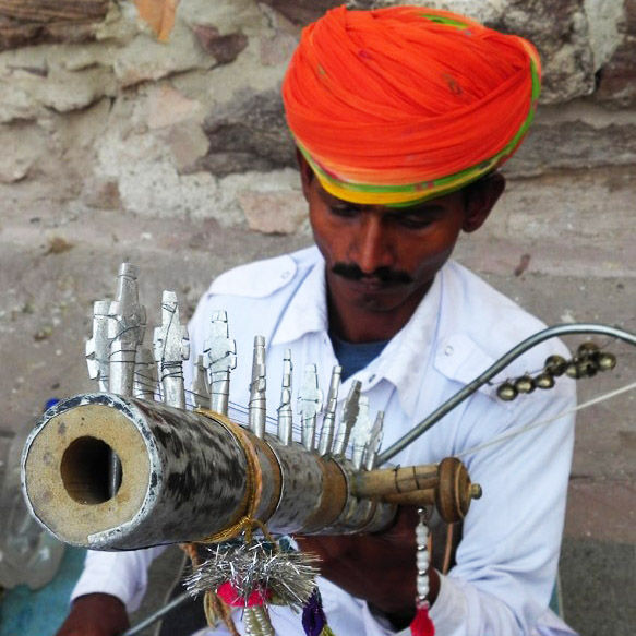 Mehrangarh - Musician