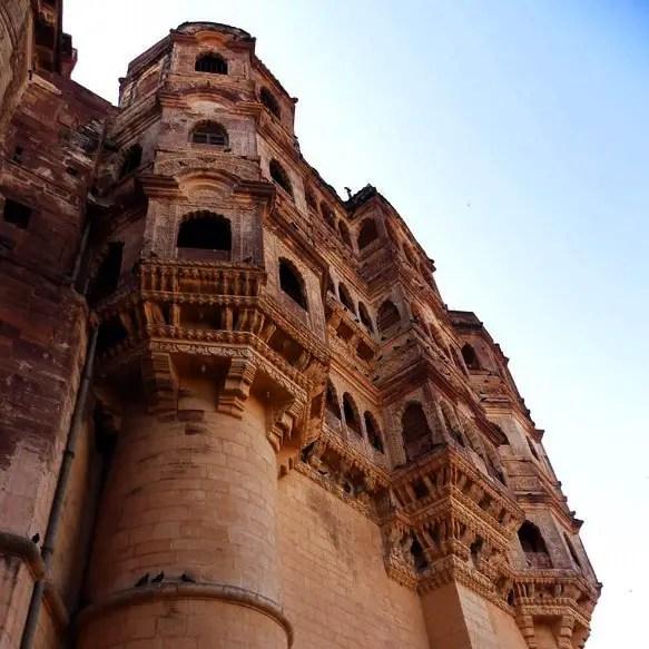 Mehrangarh - Palace walls