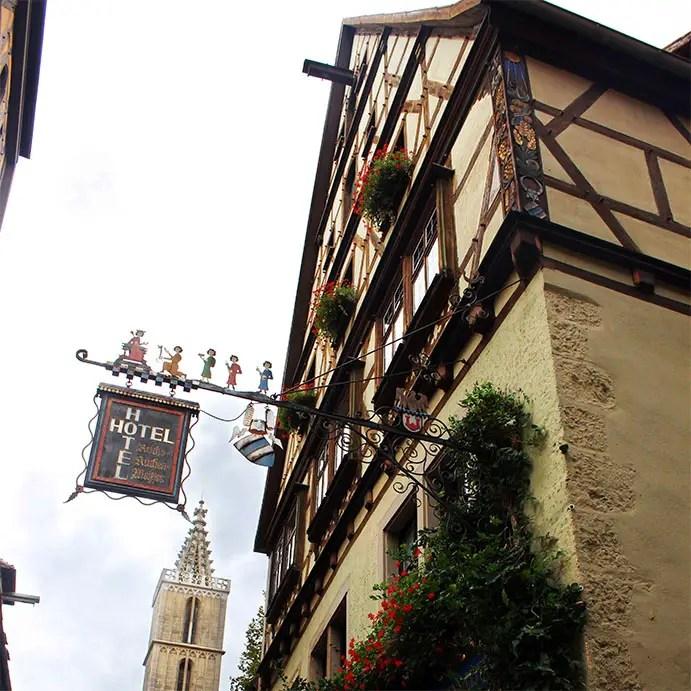 Rothenburg - Window flowers