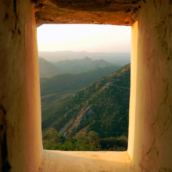 Udaipur - Sajjangarh hill view 2 - Eight great reasons why you should visit Rajasthan, 'land of kings'