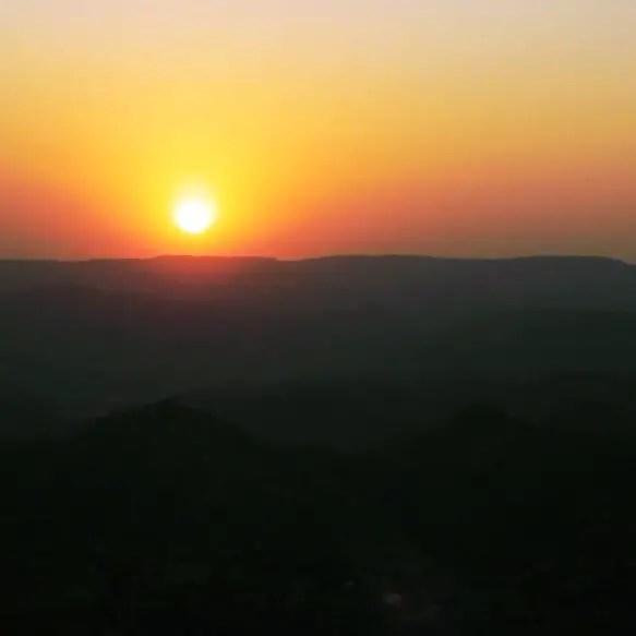 Udaipur - Sajjangarh sunset