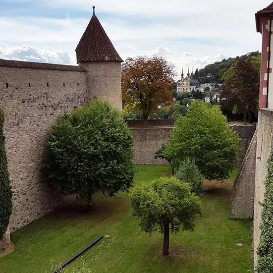 Wuerzburg - Moat garden