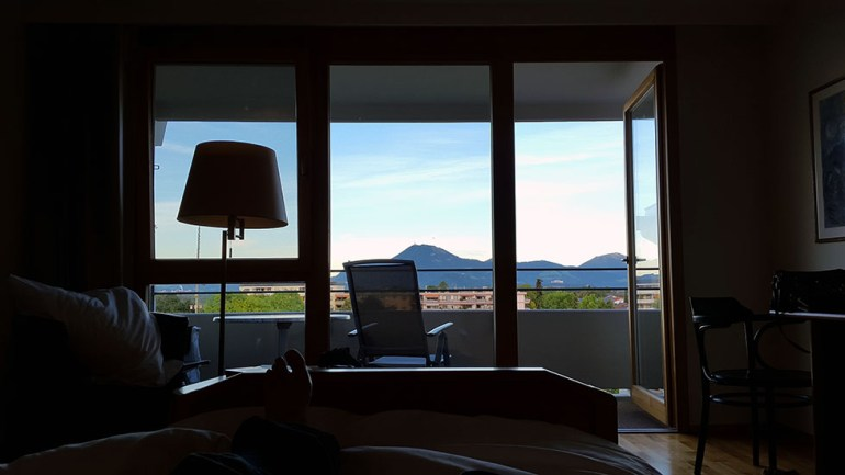 room with a view  - Ainring, Salzburg and the Jenner: A road trip through Germany, and other ways to pass the time (Part 5)