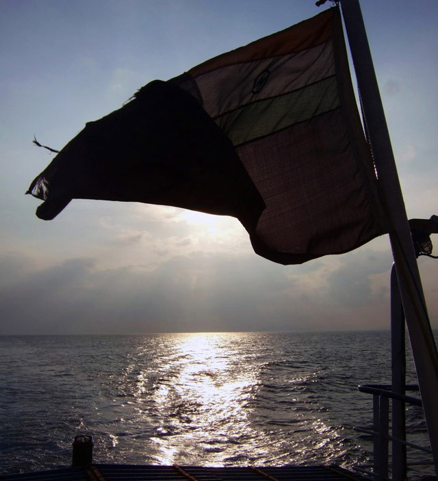 Andamans-Havelock-Ferry ride