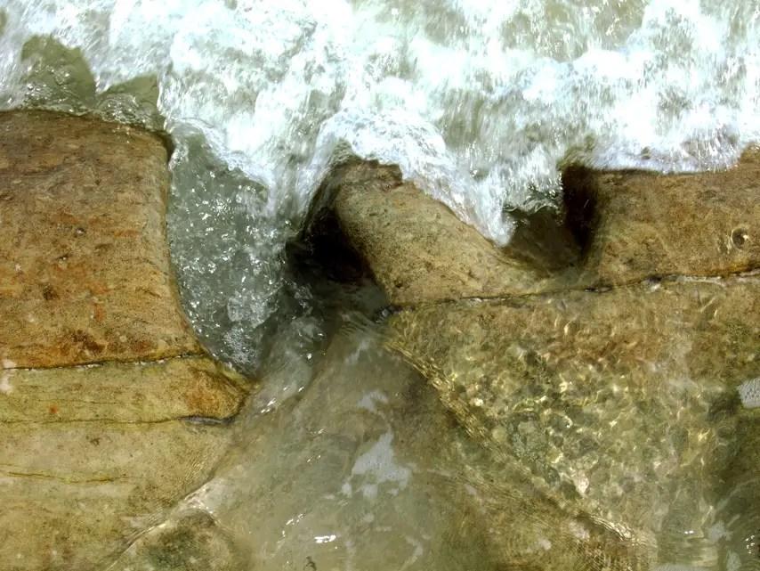 Andamans-Havelock-Govind Nagar-Swirling rocks